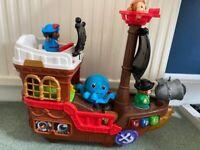Vtech Toot toot pirate ship