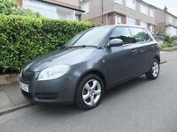 2008 '08 REG' SKODA FABIA HTP 1.2 LITRE 5 DOOR HATCHBACK +++1 YEAR MOT WITH FULL SERVICE HISTORY+++