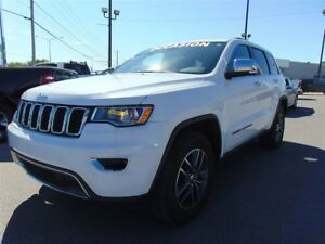 2018 Jeep Grand Cherokee Limited*CUIR*MAGS*CAMÉRA*BLUETOOTH*TOIT