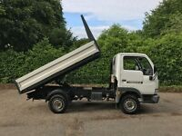 Nissan Cabstar E.95 2.7 TD Tipper Truck - Only 55k Miles & Nissan History - Very Rare Opportunity!!