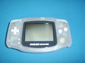Nintendo Game Boy Advance +case +2 games + 2 cases