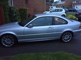 BMW 3 series - 318 ci - 72k - 03 plate - great condition!