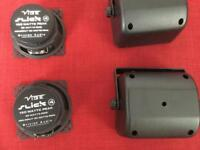 Pair Vibe Slick 4 Car Speakers