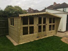 Garden shed/summer house sale