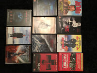 11 dvd movie films kids action pans labyrinth Gladiator Football factory rush hour 2 resident evil