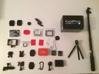 accessories gopro Tripod Mounts-flat adesive-Camera Tethers-Screen Protectors-floaty-extension pole