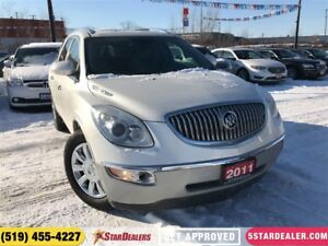 2011 Buick Enclave CXL | AWD | 7PASS | LEATHER | ROOF