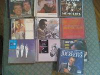 Cd's bundle Take that, Jim Reeves, Judy Garland, Glenn Miller etc