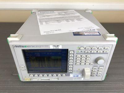 Anritsu Ms9710c 600 To 1750nm Optical Spectrum Analyzer Osa - Calibrated