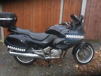 honda nt650 v deauville, fully serviced, will come with 12 months mot, many parts