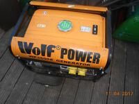 4 petrol lawnmowers and a genorator
