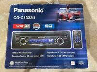Panasonic car radio CD MP3 player with aux in New unused