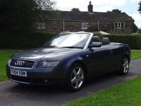2004 AUDI 2.5 TDI SPORT CONVERTIBLE MANUAL DIESEL