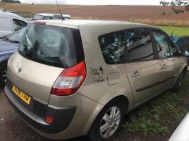 Renault grand scenic 7 seater spares repair