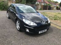2008 Peugeot 407 2.0 HDi Sport 4dr 1+Owner+From+New+Park+Sensors @07445775115129000