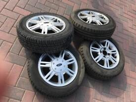 Used 4 alloy wheels for Fiesta Fiesta 1.3 for sale