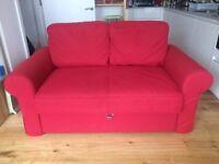 Sofa Bed IKEA Backabro RED