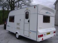 2 berth Fleetwood Serenade Sonata in excellent condition with many extras
