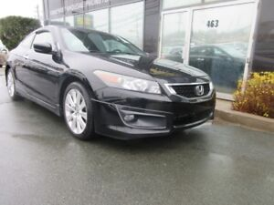 2010 Honda Accord 2DR V6 COUPE LEATHER & SUNROOF