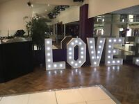 Beautiful giant 'LOVE' letters for hire in Windsor, Berkshire & surrounding areas