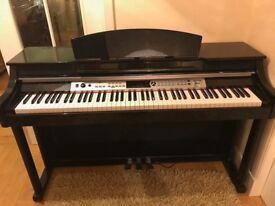 DP-60 Digital Piano by Gear4music Polished Ebony