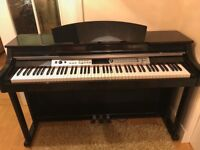 DP-60 Digital Piano by Gear4music Polished Ebony
