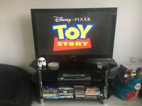 Samsung 43 inch TV with stand