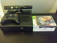 XBOX 360 AMAZING CHEAP BUNDLE!!! BEST PRICE ON GUMTREE!! WITH KINECT AND GAMES!!