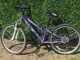 Apollo Girls purple bike in good condition