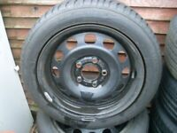 bmw winter wheels and tyres x 4