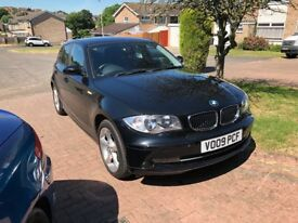 09 BMW 116 edition black low miles mot low tax n insurance £3395
