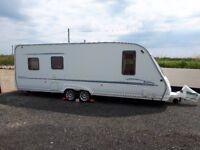 Sterling Elite Wayfarer Twin Axle 5 berth Touring Caravan- VGC