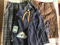 Boys shorts hoody bundle, all sizes between 5-8 (similar in size)