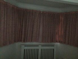 Curtains (fully lined )
