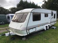 Caravan 4/5/6 berth Elddis Crusader twin axle 1998 fantastic condition awning available
