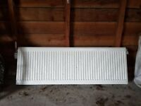 Double Radiator for sale 120cm x 40 with thermostat