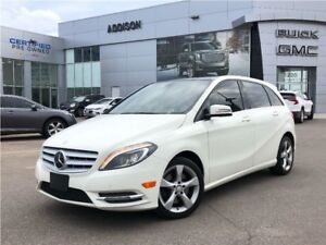 2014 Mercedes-Benz B-Class Sports Tourer GPS Panoramic sunroof