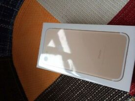 Brand New and Sealed Apple iPhone 7 32gb Gold locks to first network