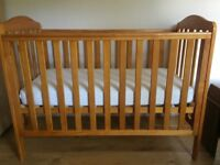 Cot with bedding * must go this week