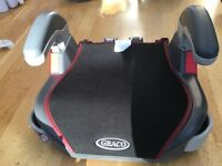 used Graco junior booster seat with cupholders