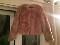 Brand new with tags - faux fur jacket