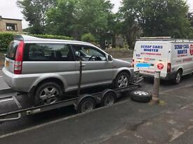 Scrap cars wanted today 07794523511