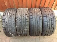 X4 225 45 17 EXTRA LOAD TYRES WITH VERY GOOD TREAD