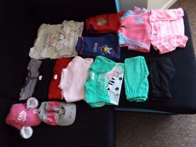 Girls clothes age 2-4 years