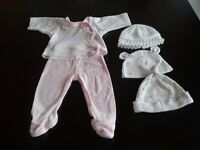 Tiny/ small baby girl clothes bundle