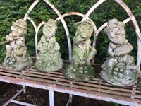 Garden Gnomes, high quality stoneware.