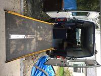 Heavy duty wheel chair / motorbike ramp