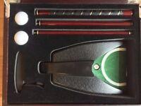 Travel Golf Putter & Case