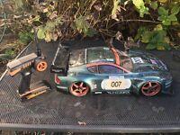 Nitro rc drift car scale 1/8
