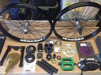 BMX parts Joblot
